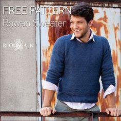 Free Rowan Man's Sweater Pattern