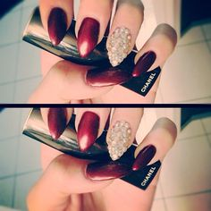 #Fall nails love the color