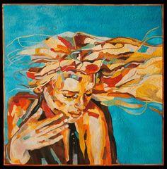 Summer Wind by Marina Landi and Maria Lucia Azara (Brazil). Winner, Master Award for Innovative Artistry, $5,000. 2014 Houston International Quilt Festival