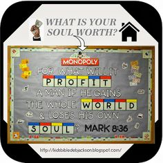 Monopoly Bible Bulletin Board