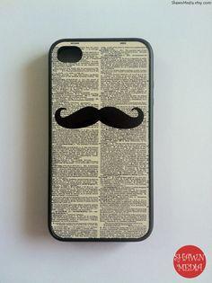 Moustache iPhone 4 Case moustach