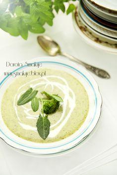sorrel - broccolo cream soup