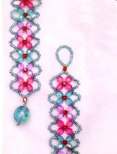 Free beaded bracelet pattern