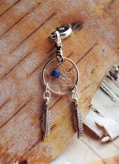 Hey, I found this really awesome Etsy listing at https://www.etsy.com/listing/114067793/dreamcatcher-charm-dreadlock-bead-silver