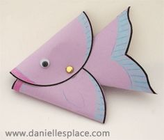 Whale Puppet Bible Craft