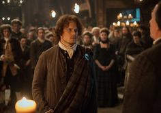Outlander's Sam Heughan on Whether Jamie's the Man to Govern a Clan