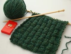 Beautiful Basket Weave Knitting Stitch for Beginners « Void Where Prohibited