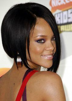 Rihanna black hairstyle