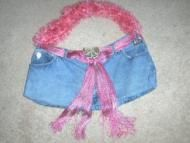 Price $12.97 Used blue jean handcrafted purse. I have took an old pair of faded glory jeans and made this purse. If your a gal who like to carry a lot...