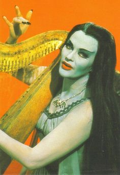 Oh how I loved Lily Munster!