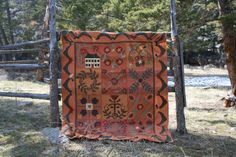 Tom Miner Quilts and Folk Art: Baskets, Berries and Leaves