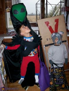 Alien Abduction and Mouse Trap Costumes
