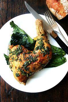 roast chicken, roasted chicken