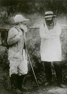 Pissarro et Cezanne à Pontoise