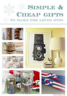 Simple Christmas Gifts DIY