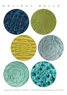 Printable faux croch