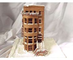 This Gingerbread Brownstonehttp://www.buzzfeed.com/jvsmith52/25-adorable-gingerbread-houses-that-will-get-you-i-7xd6 holiday, gingerbread art, edibl art, amaz gingerbread, brownstonei die, gingerbread brownstonei, gingerbread houses, gingerbread wonder, christma