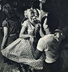 Dance with me, circa 1955