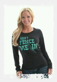 Pin it to win it! Cowgirl Tuff Co. http://www.cowgirltuffco.com/products/ Cowgirl Tuff love the color combo. Teal looks good with blonde hair!