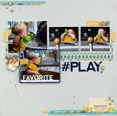 #Play *Jillibean Soup* - Scrapbook.com - Made with Jillibean Soup supplies.