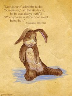 Velveteen Rabbit <3