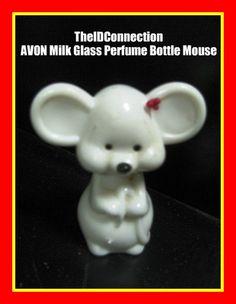 Christmas Avon Mouse Perfume Bottle retro by TheIDconnection, $15.00