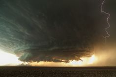 Massive Supercell Storm