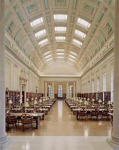 Harvard Library, Harvard University, Cambridge, Massachusetts.