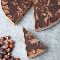 Raw Vegan Chocolate Hazelnut Mousse Cake