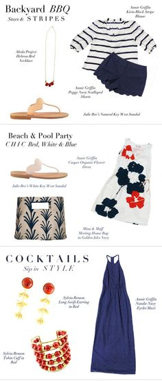 Great Fourth of July outfit ideas from Annie Griffin Collection!