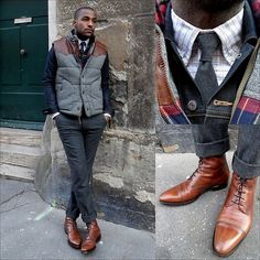 Layering with vest