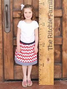 Super cute personalized growth charts on zulily today!