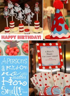 dr seuss party birthday parties, birthdays, seuss parti, birthday idea, 1st birthday, drseuss, dr suess, parti idea, dr seuss