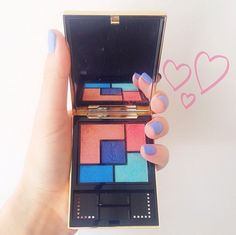 The prettiest palette from YSL - perfect for a sunset smoky eye.