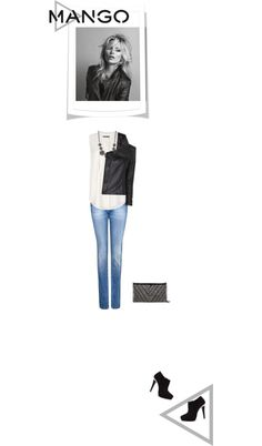 """""""Mango simple style"""" by rock-man ❤ liked on Polyvore"""