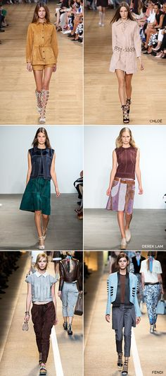 Spring 2015: That Suede Show
