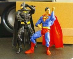 Superhero dance party.
