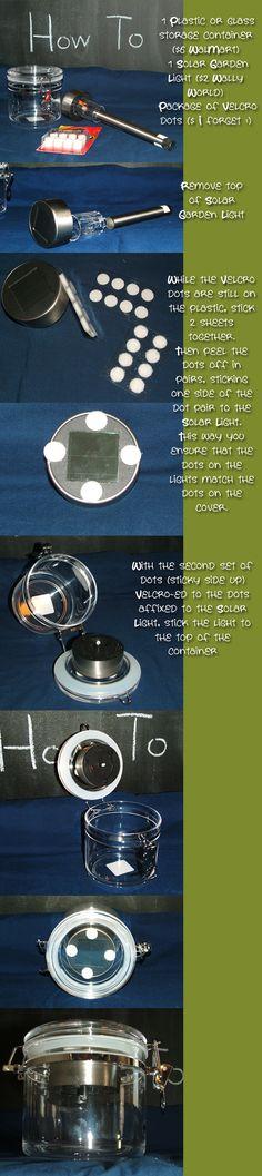 Jar solar light!