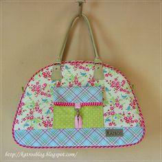 a pretty bag by Katros...love the fabrics