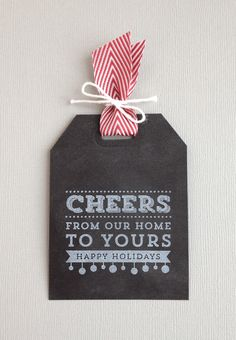 cheers-tag   Stampin' Up! Christmas