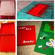 travel lego, box