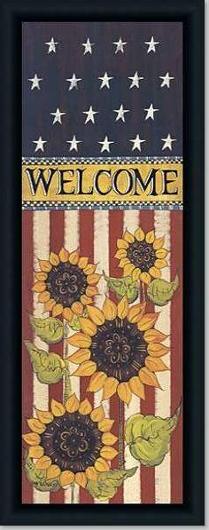 Patriotic Welcome ...