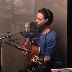 """""""SANG A SONG TO SAVE US ALL""""  Photo by Jared Leto"""