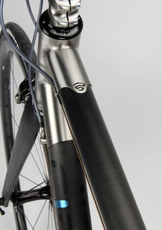 Firefly Ti-Carbon HT Lug Top 2 by fireflybicycles, via Flickr