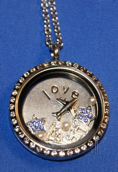 "If you like expressing yourself with jewelry, you'll love creating ""Share Your Story"" jewelry with South Hill. $77  #Air-Force #Lockets #Charms #Military #jewelry"