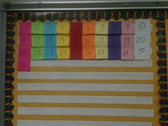 Counting the days at Kreative in Kinder.