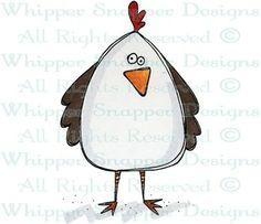 stamp, funni bird, doodl, art bird, bird art, oil paint