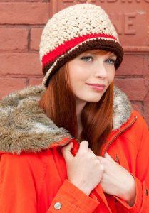 Hit the slopes with this Snowstorm Crochet Hat