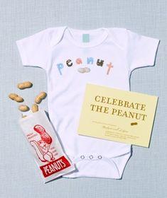 6 Easy Baby ShowerThemes. Oh I just love the peanut idea. so cute.