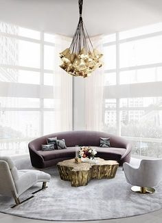 Why not starting your new living room interior design project today? Find with Luxxu the best luxury lighting fixtures for your projects and the best decor ideas at luxxu.net  #livingroom #luxury #luxuryfurniture #interiordesign #interiordesignideas #lighting #lightingdesign #homedecor #decor